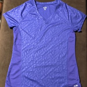 Champion woman's workout top size M